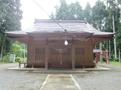 鹿島神社・社殿