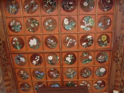 仙林寺10・天井画1