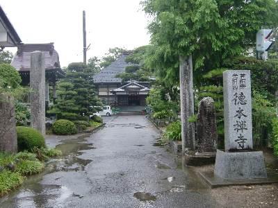 徳本寺01・入口から