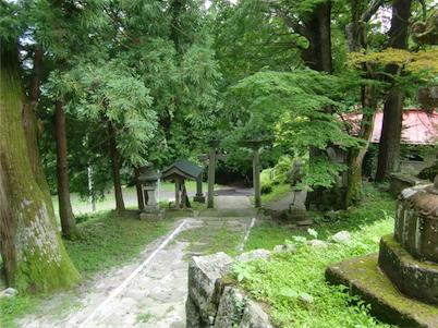 羽山神社・鳥居上から