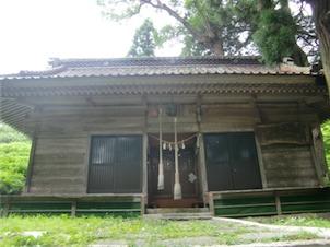羽山神社・拝殿