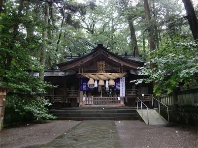 小野神社・拝殿
