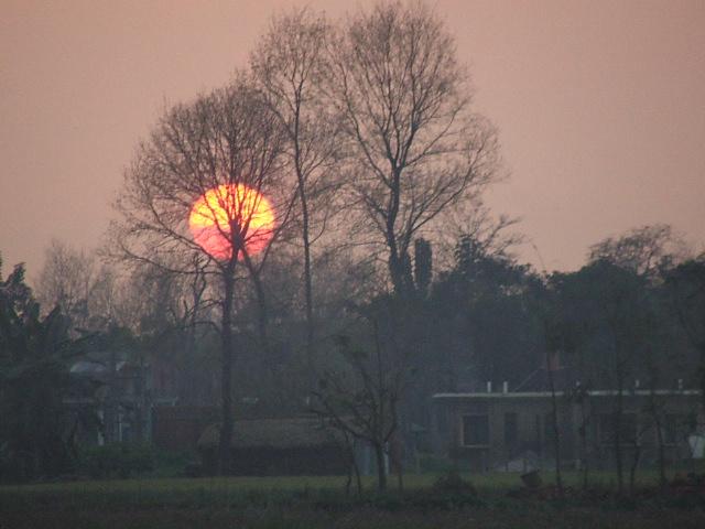 チトワンの夕日