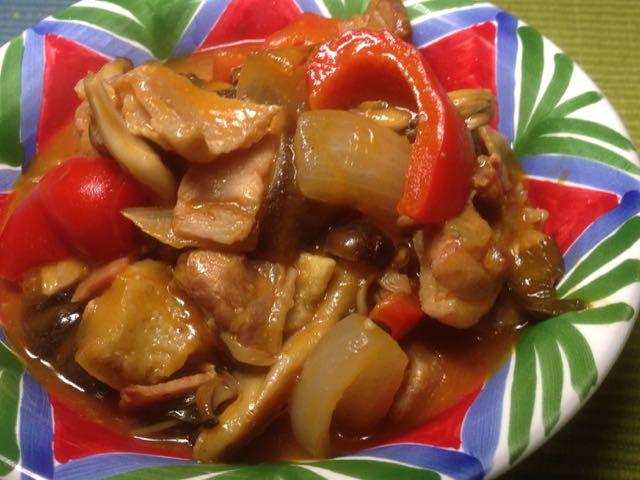 余り野菜トマト煮