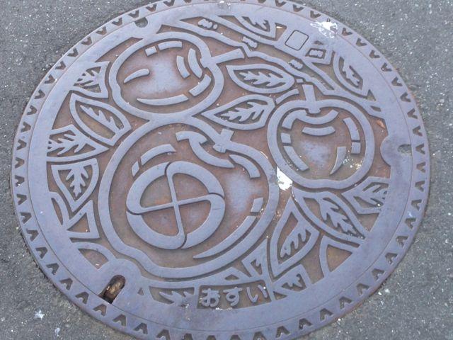 飯田マンホール1