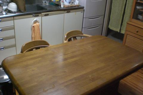 キッチンテーブル1