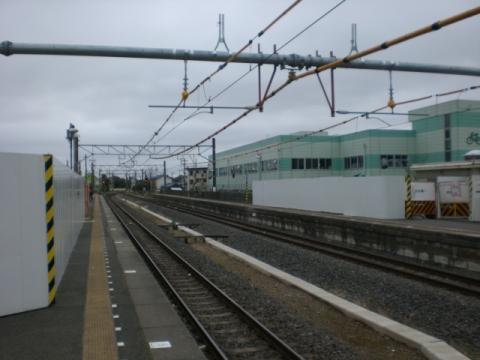 旧駅舎解体1
