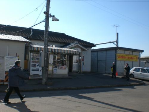 新駅舎使用開始当日4