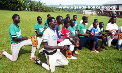 ウガンダの野球チーム