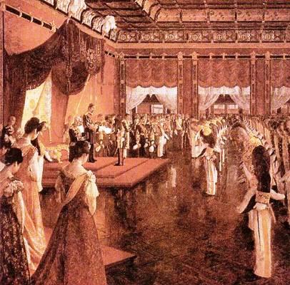 大日本帝国憲法発布式
