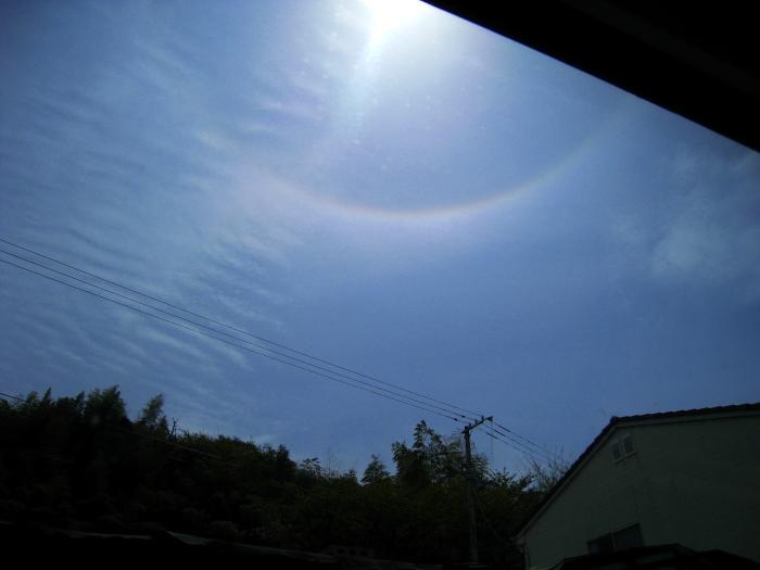 空のリング@特急しおかぜ7号(by IXY DIGITAL 910IS)