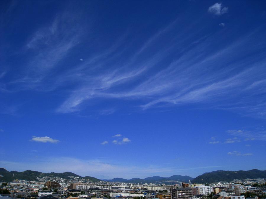 昼間の空@昼休み(by IXY DIGITAL 910IS)