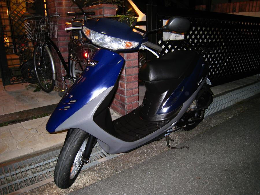 本日納車!古いけど新しい相棒(^^!HONDA スーパーDio(by IXY DIGITAL 910IS)