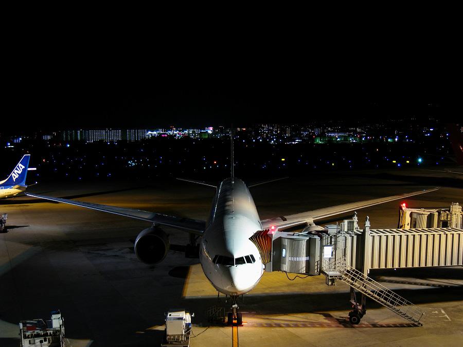 ANA B777-381ER Spot12@大阪国際空港展望デッキ ラ・ソーラ(by IXY DIGITAL 910IS)