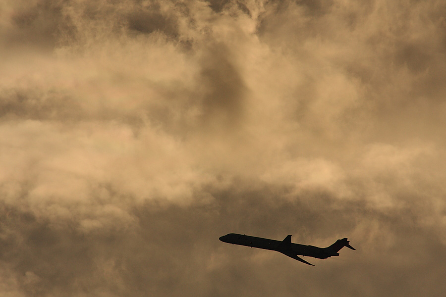 JAL MD-90@2010年9月12日(by EOS40D with SIGMA APO300/2.8EX DG+APO TC2x)