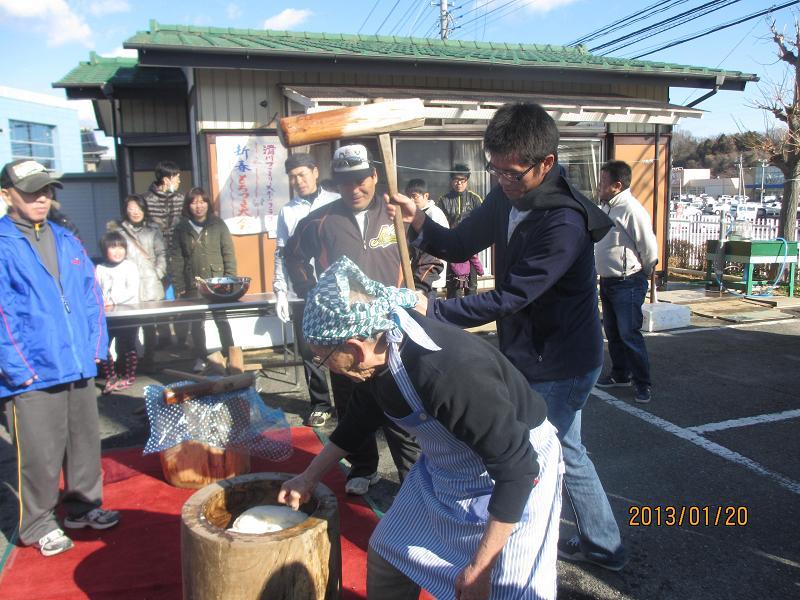 日本語0120餅つき6