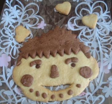 にがおえクッキー