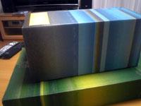 箱が二つ届きました。