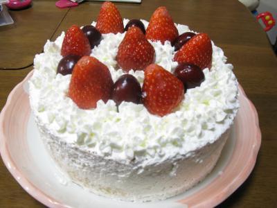 2010年ももか ケーキ