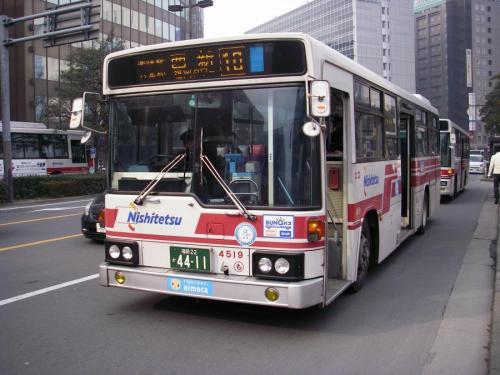 博多駅にて百道浜4519