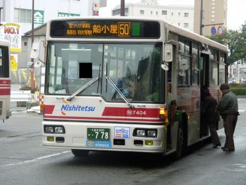 西鉄久留米にて筑後7404