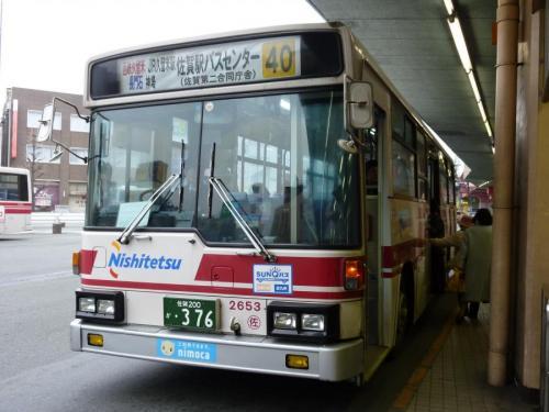 西鉄久留米にて佐賀2653