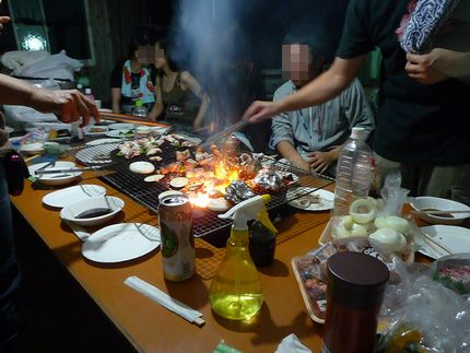 BBQ ゴオオォォォォ!