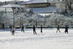 0310校舎雪景色2
