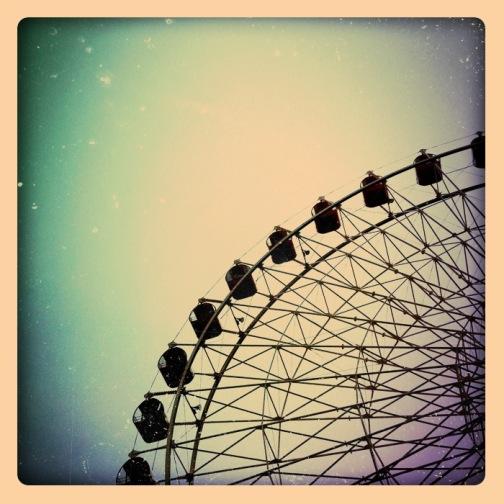 観覧車×iphone4