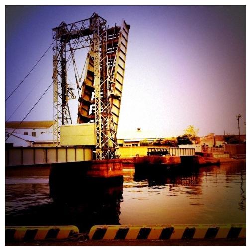 橋×iphone4