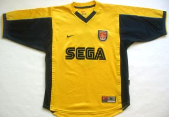 Arsenal--99-Away Sega