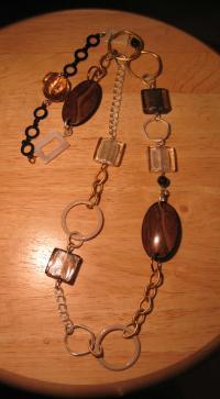 ブログ用 茶色ネックレス(写真用)