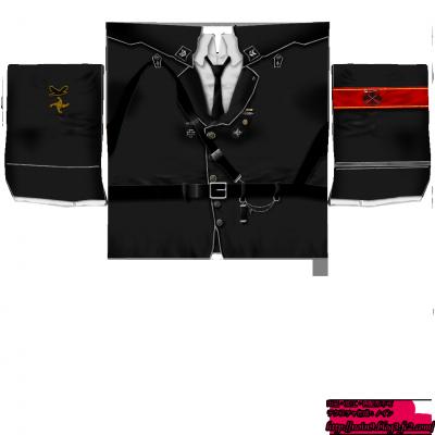 軍服・黒・ノーマル丈(女)