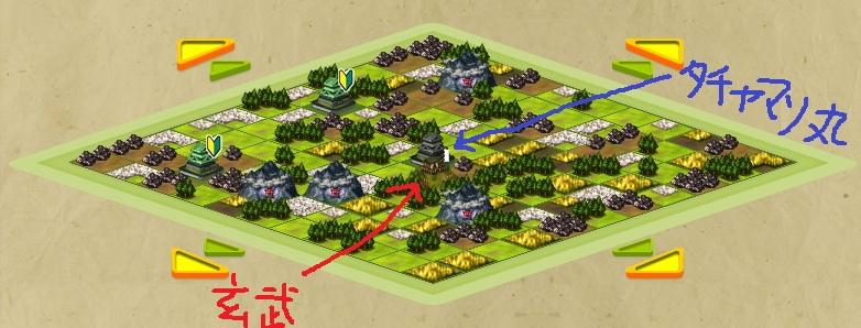 戦国IXA 地図