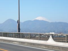 足柄大橋からの富士山