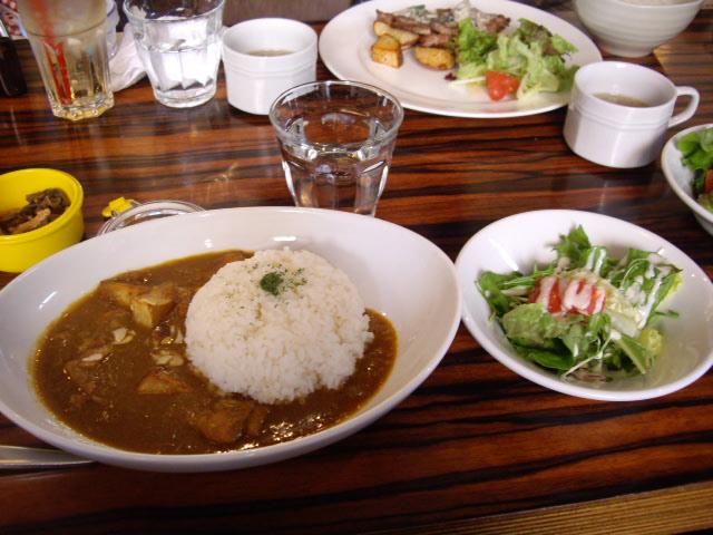 カボチャと鶏肉のカレー