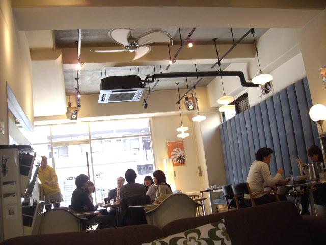 リリィーカフェ店内