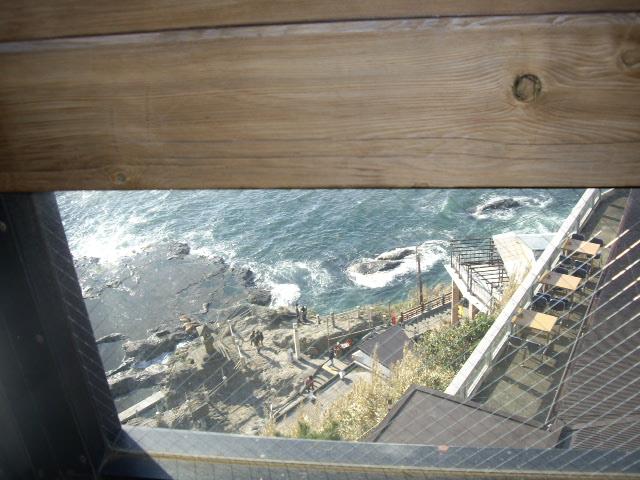 高台にあるので見渡せるよ