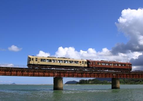 北近畿タンゴ鉄道 由良川橋梁