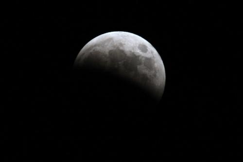 皆既月食2014 ②