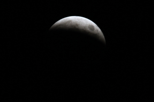 皆既月食2014 ③