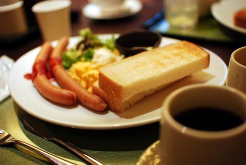 セントラルホテル岡山の朝食