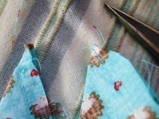 縫い代カット
