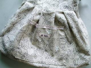 たっぷりバッグ内布
