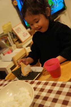 初めての手巻き寿司
