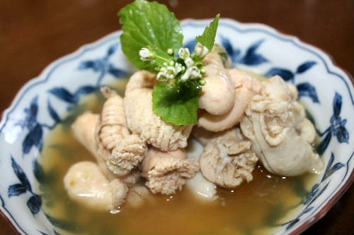 真鯛の子の煮物