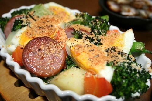 焼き野菜サラダ3