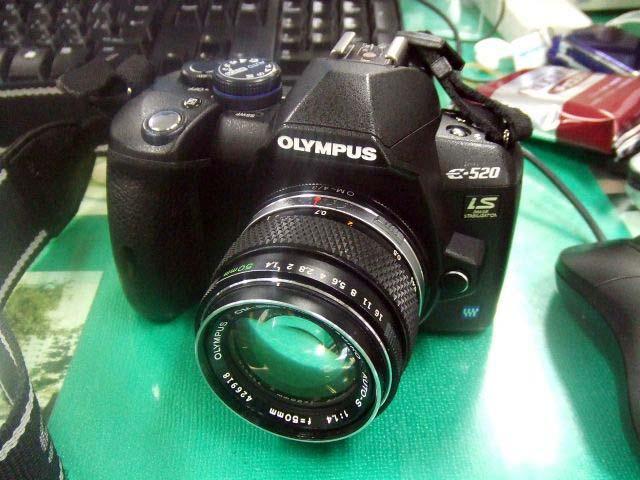 OM50mm&E-520