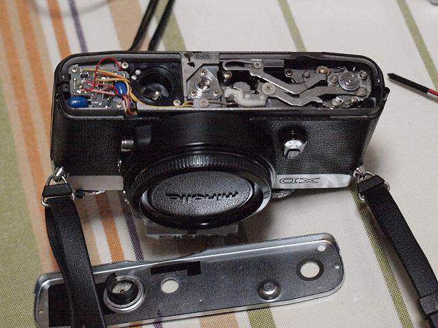 MINORUTA XD 電池交換