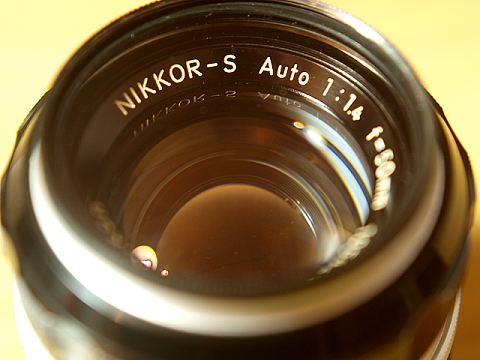 NIKKOR-S Auto F1.4 接写